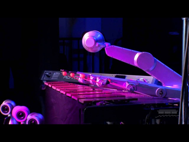 "Robot Music: Shimon Robotic Performs ""Steady As She Goes"