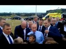 Путин остановил весь кортеж в центре г. Белгорода/2017 Лето/