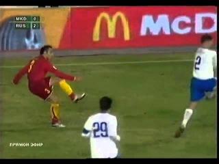 Македония 0-2 Россия / 15.11.2006 / Republic of Makedonia vs Russia