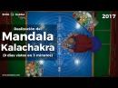 Construcción del Mandala Kalachakra 2017, 9 días vistos en 3 minutos. ¡IMPRESIONANTE!