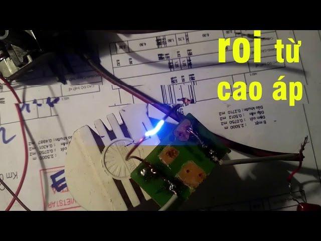 Chế roi điện,dùi cui điện,kích điện từ cao áp tivi