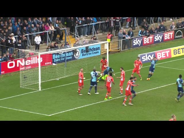 Лига 2 2016/17, 36 тур. Уикомб Уондерерс 0:0 Блэкпул