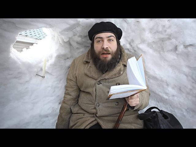 Данила Давыдов в Поэтических кабинках из снега