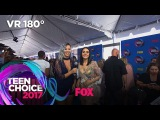 Emeraude Toubia Attends Her First Red Carpet As A Nominee TEEN CHOICE