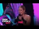 "Melissa Benoist Accepts The ""Choice TV Actress: Action"" Award   TEEN CHOICE"