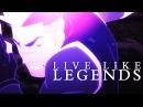 Voltron Legendary Defender Live Like Legends