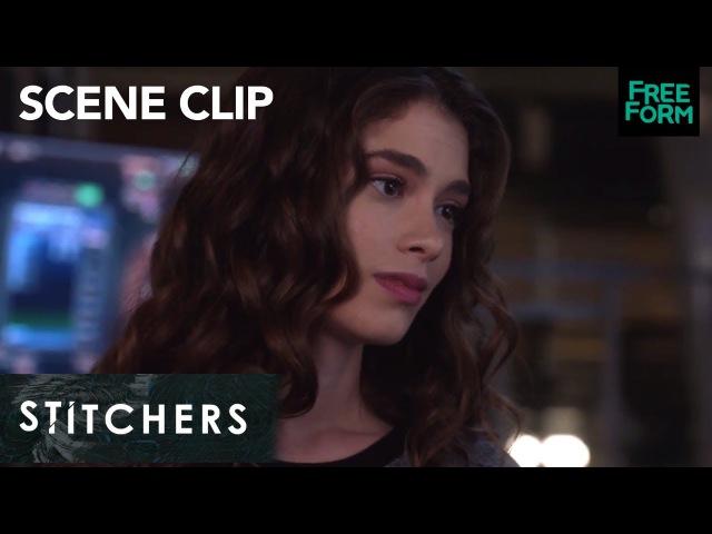 Stitchers Season 3 Episode 10 Ivy Apologizes to Linus Freeform смотреть онлайн без регистрации
