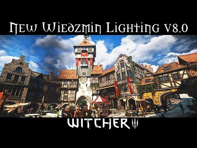 BEST REALISTIC/CINEMATIC LIGHTING MOD - WIEDZMIN v8.0 | Witcher 3 - Ultra Mods