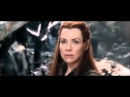 The Hobbit: The Battle of the Five Armies-Thranduil and Tauriel discuss love