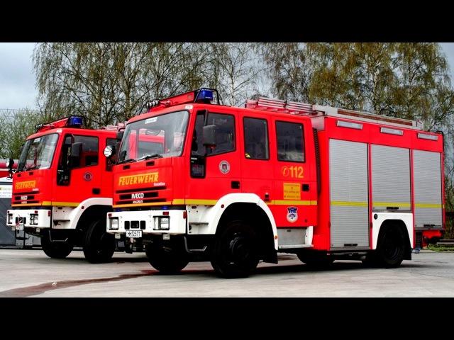 Iveco Magirus EuroFire FF 135 E24 W Loschfahrzeug HLF 1616 1997