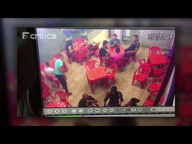 Policial é vítima de assalto a lanchonete na Cidade Nova