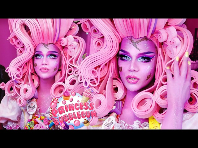 Princess Bubblegum Drag Makeup Tutorial - Arabia Face Awards Top 20