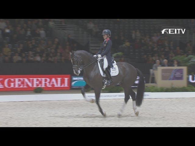 New World Record at the Reem Acra FEI World Cup™ Dressage Final 2014 in Lyon