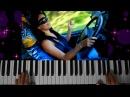 Modern Martina KorgStyle- Падает Снег! Magic Babe Race (Korg Pa 900) EuroDance Remix 2017