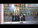 Достойно есть Византийского распева. Антем в Свири. соло Олег Семенов
