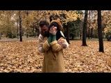 Безумно влюблённые и счастливые Нелли Ермолаева с мужем гуляют по парку