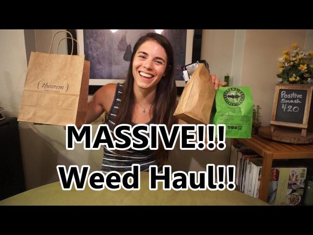 MASSIVE WEED HAUL- Washington Recreational Cannabis