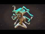 Дарья Травицкая. 3D-модель. Превосходящий