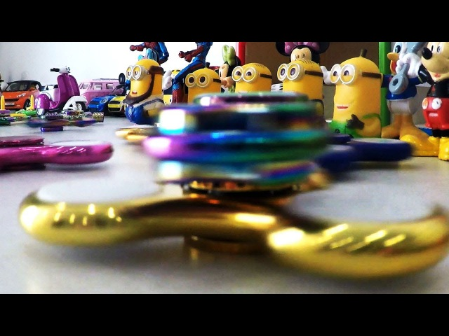 Spinner | Fidget Spinner | Minions Banana | Mickey Mouse | Minions Banana Song | Learning Kids