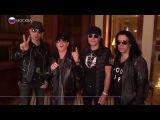 Группа Scorpions дала грандиозный концерт в Москве