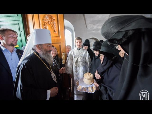 Вознесіння: Предстоятель звершив Літургію у Флорівському монастирі