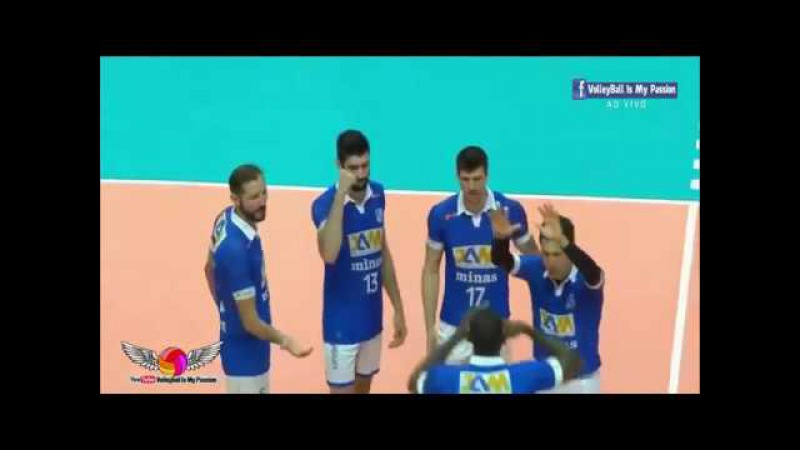 [HD] Minas vs Caramuru Volei |14-12-2017 | Brazil SuperLiga Men 2017/2018