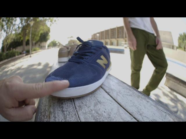 100 Kickflips New Balance Numeric 533 V2 With PJ Ladd