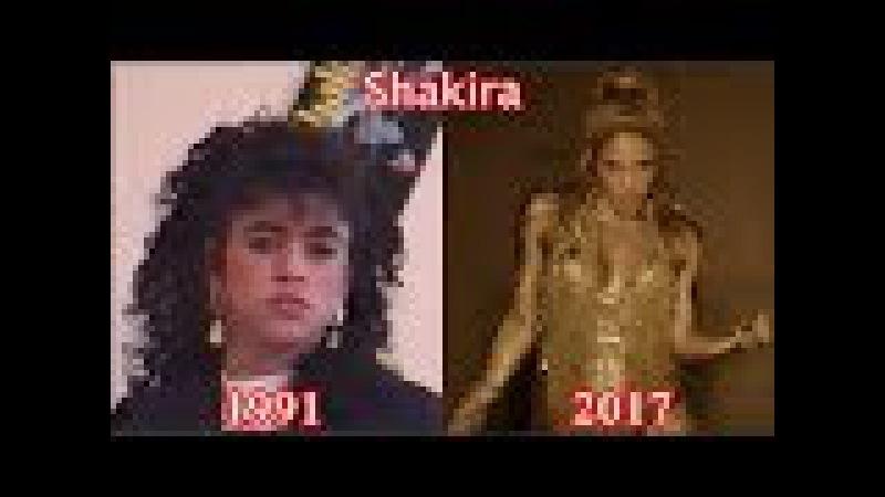 Shakira - Evolución Musical - Desde: Magia -1991 - A: Perro Fiel con Nicky Jam - 2017