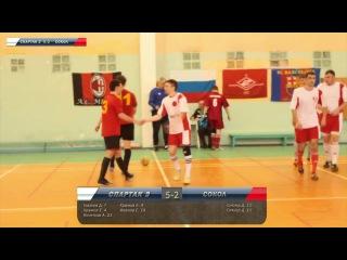 4 тур Спартак-2 - Сокол (Снежинск) 5:2 Высшая лига 16/17
