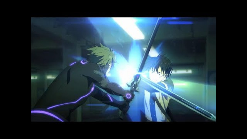 Sword Art Online:Ordinal Scale Kirito Vs. Eiji