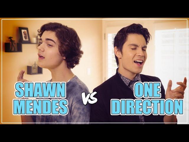 SHAWN MENDES vs ONE DIRECTION Mashup!! ft. Sam Tsui Alexander Stewart