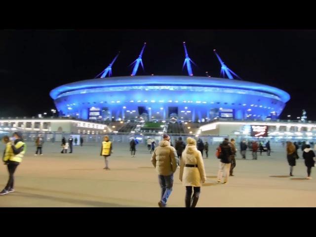 ФК Зенит - ФК Тосно (не репортаж) 19.11.2017 г