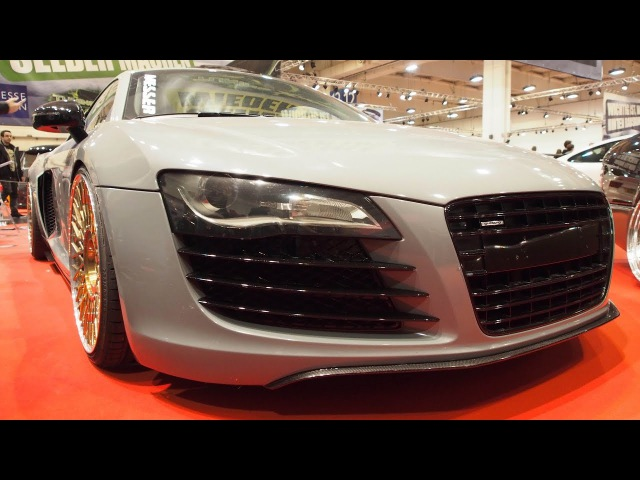 Audi R8 2007 Tuning by JP Performance 4.2L V8 Chip 420 PS, 3-teilige MESSER ME11-3 9j 12j x R20