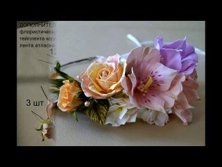 Веночек из цветов