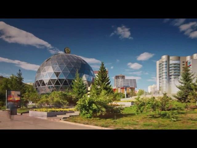 Новосибирск с высоты птичьего полета.