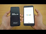 Samsung Galaxy S8 vs Google Pixel XL - Speed Test! (4K)