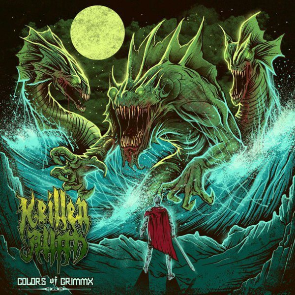 Keillen Allith - COLORS of GRIMMX [EP] (2017)