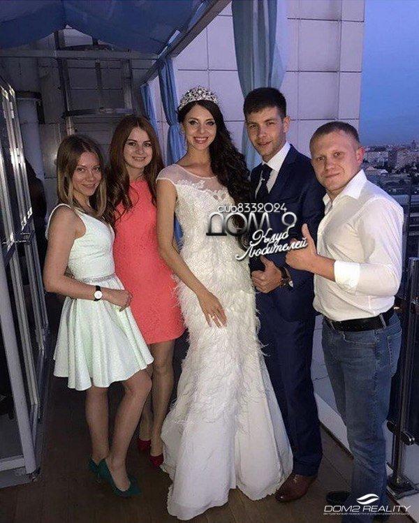 Первое фото со свадьбы