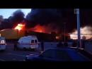 Пожар в «Синдике»: видео очевидцев