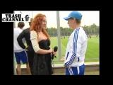 Александр Алиев дает интервью