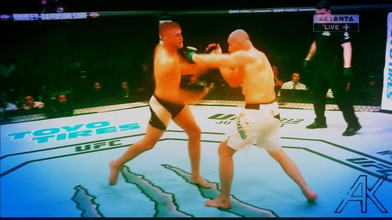 Alexander the Mauler Gustafsson vs Glover Teixeira