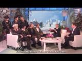 [RUS SUB][27.11.17] BTS @ The Ellen Show