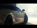 Lamborghini Gallardo LP 550 Ferrada Wheels FR2 Matte Black