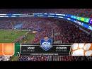 NCAAF 2017 / Week 14 / ACC Championship / (7) Miami Hurricanes - (1) Clemson Tigers / 2Н / 02.12.2017 / EN