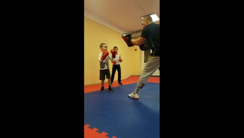 Тренировки по боксу для детей от 5 лет.