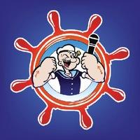 Логотип Караоке «Морячок» Улан-Удэ