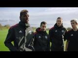 Мхитарян, Мата, Погба и Матич тренируются с командой Adidas