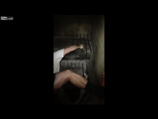 Заключенные сняли на камеру побег из тюрьмы (#NR)