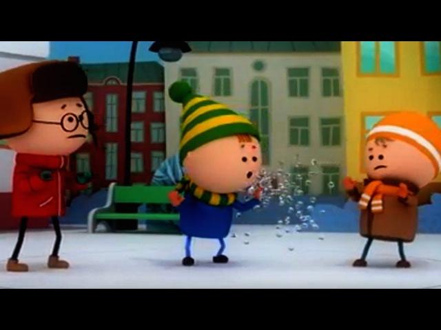 Аркадий Паровозов спешит на помощь - Зимний день - мультики для детей - Серия 139