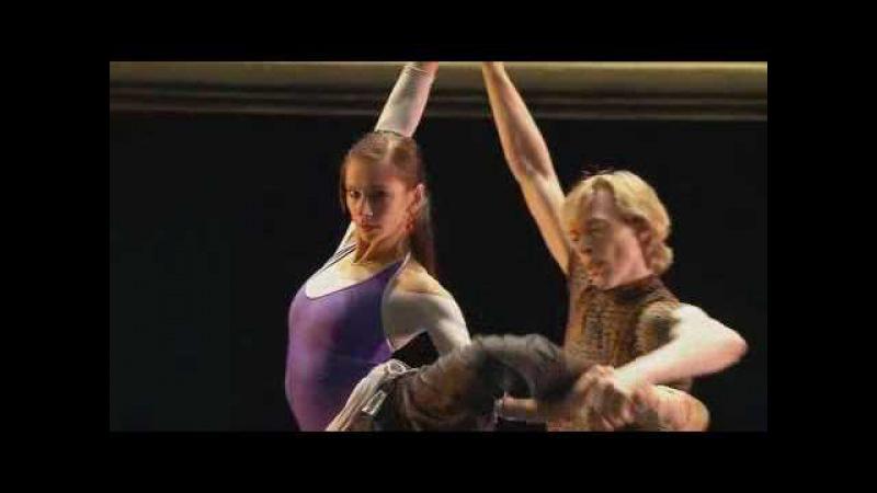 Caravaggio rehearsal - Vladimir Malakhov, Polina Semionova